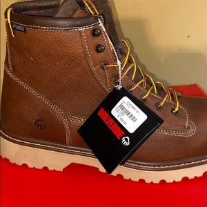 Wolverine boots steel toe NEW